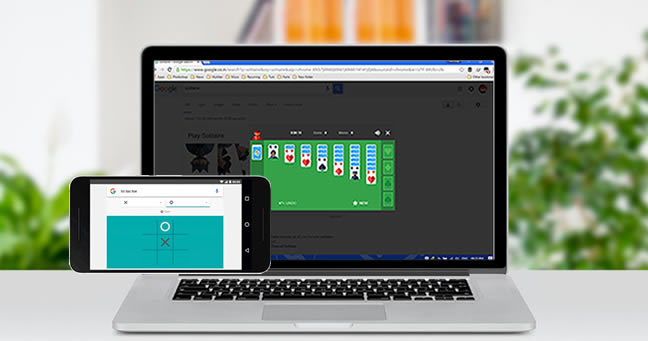 Now you can play Solitaire and Tic-Tac-Toe in Google search