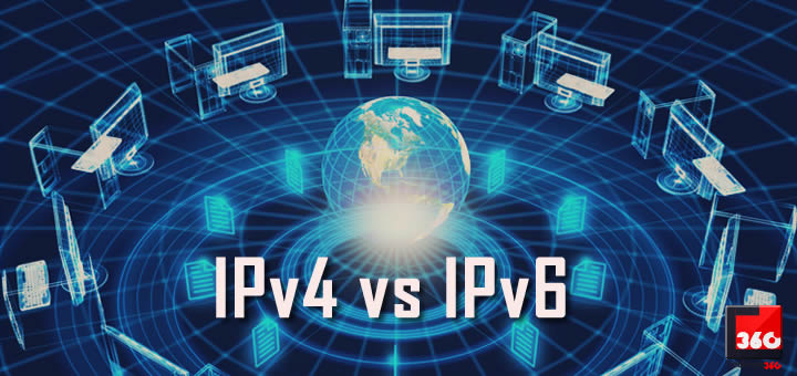 What is the difference between IPv4 and IPv6