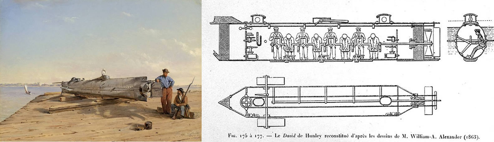 Inventors Killed by their own Inventions - Horace Lawson Hunley (1823-1863)