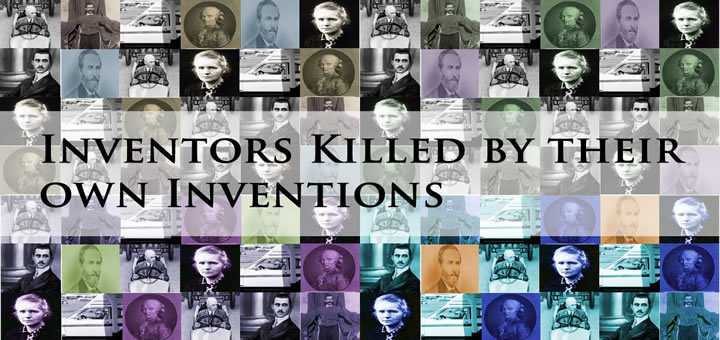 Inventors Killed by their own Inventions - Marie Curie (1867–1934)