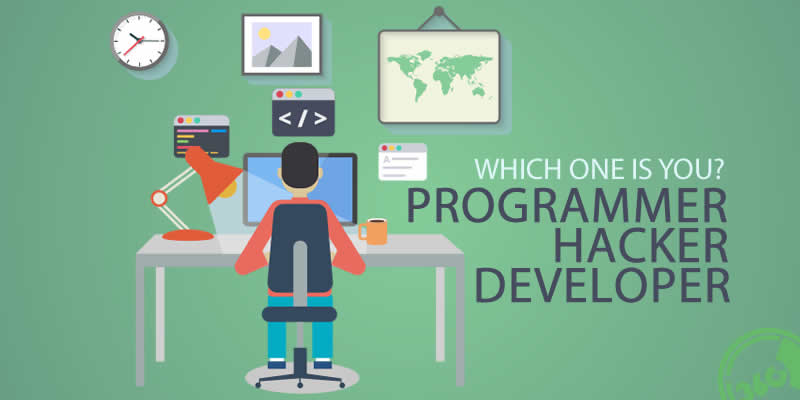 Programmer vs Hacker vs Developer — What They Do ? How They Related To Each Other ?
