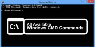 All Available Windows CMD Commands