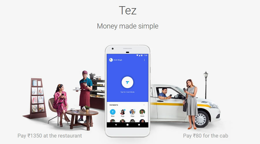 Google Launched Tez — New Digital Payment App For India