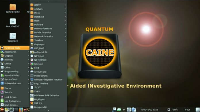 Caine - ethical hacking os