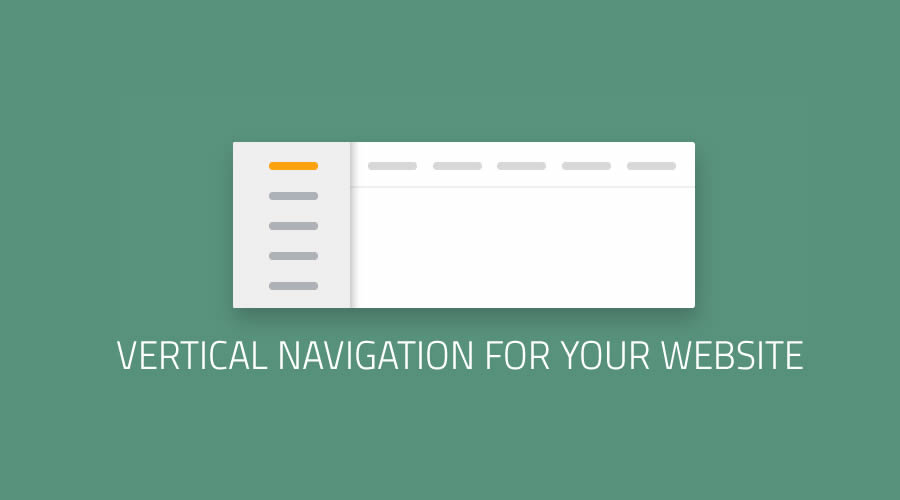 7 Great Examples Of Vertical Navigation for Your Website