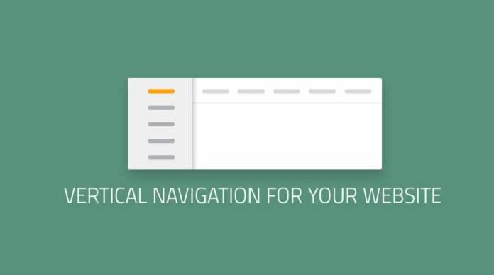 Vertical Navigation for Your Website