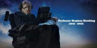 RIP Professor Stephen Hawking