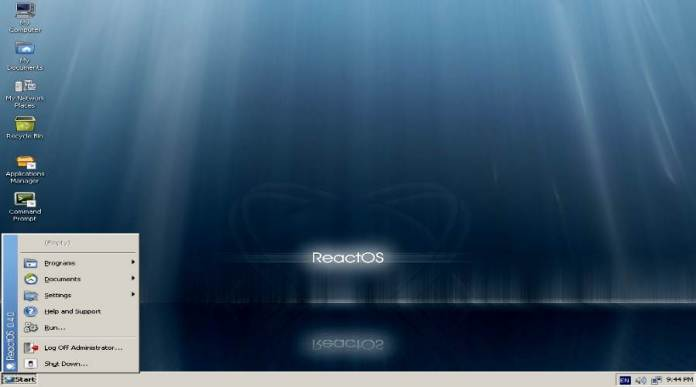 ReactOS - Lightweight Linux Distros