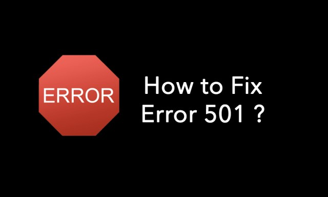 how-to-fix-error-501