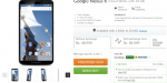 Google Nexus 6 is now Up for Pre-orders in India via Flipkart
