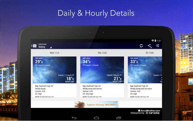 best ios weather app_AccuWeather App