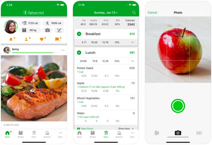 Calorie Counter: weight loss apps
