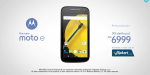 Motorola Moto E (Gen 2) launched in India for Rs. 6999