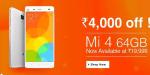Xiaomi Mi 4 64GB gets Price cut in India