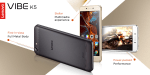 Lenovo launches Vibe K5 with 5-inch Display, Snapdragon 415 Soc in India at 6999
