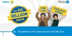 Handpicked deals on Wearables and TVs from Flipkart's 'The Big Billion Days'
