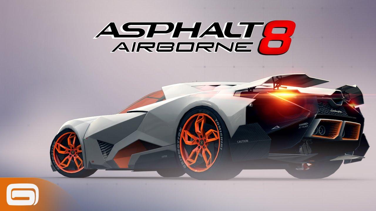 Asphalt 8 WiFi Multiplayer game
