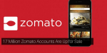 17 Million Zomato Accounts Are up for sale on Dark Web