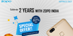 Zopo Is Celebrating 2nd Anniversary In India with Big discount For All Its Smartphones