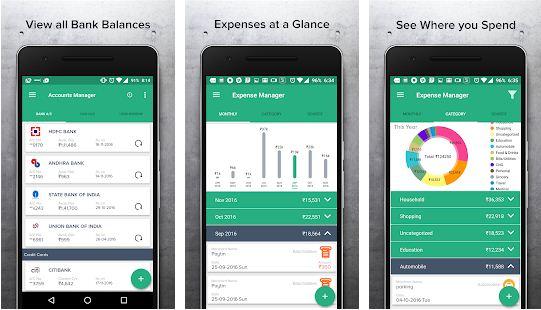 mTrakr money management app
