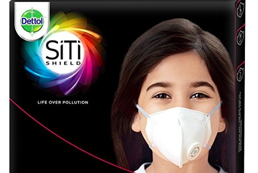 Dettol Siti Shield Protect+ N95 Anti-Pollution Mask