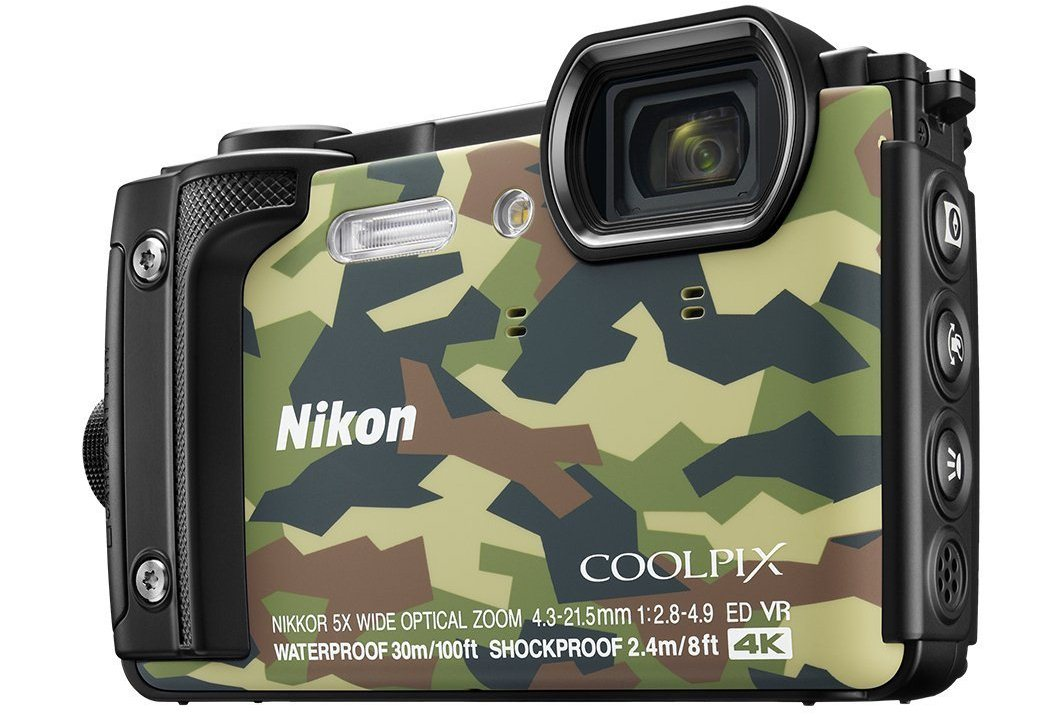 Nikon W300 Waterproof camera