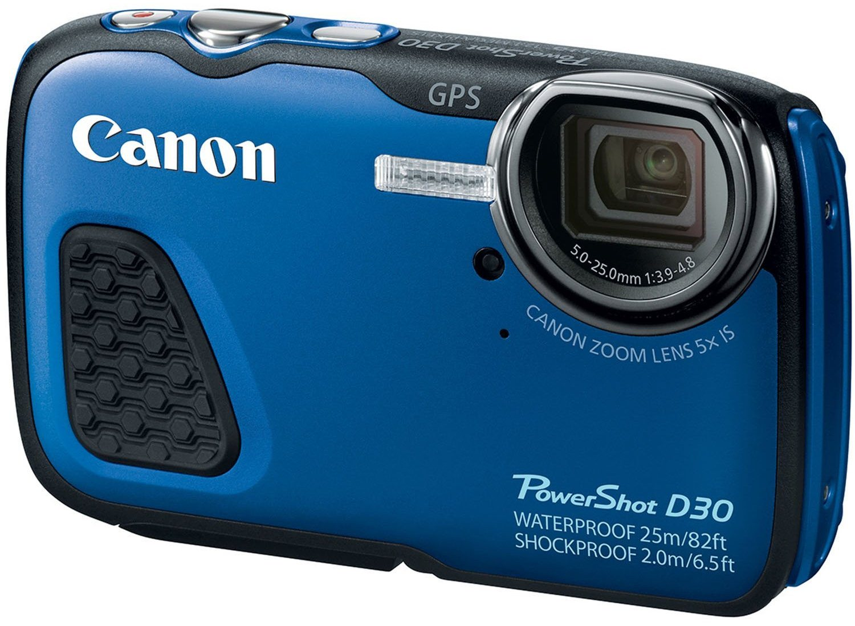 Canon PowerShot D30 water proof camera