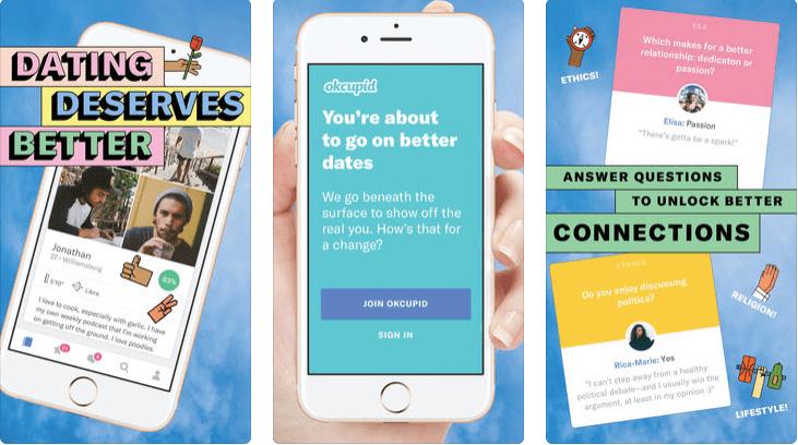 OkCupid: Hookup app