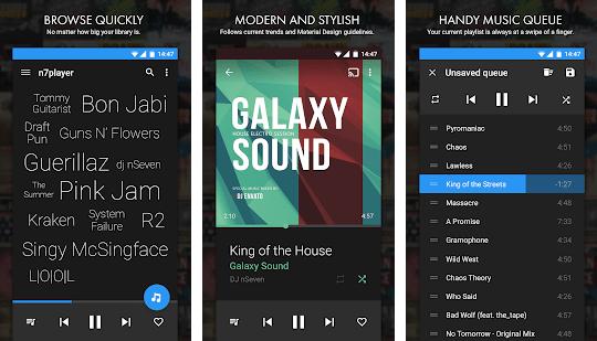 n7player Music Player app