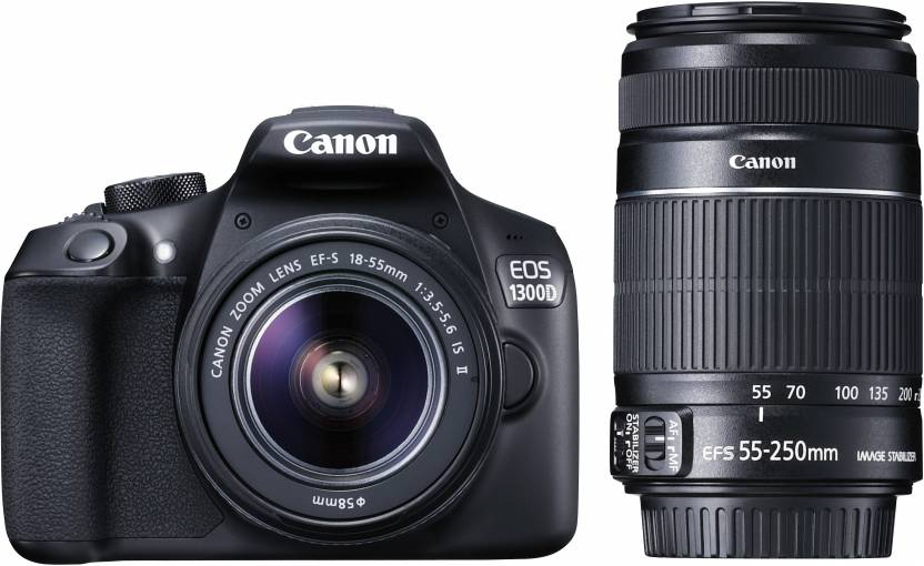 Canon Eos 1300D camera for travelling