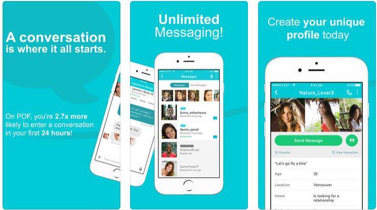 POF Dating app