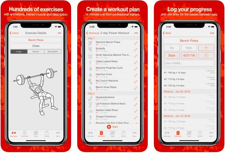 Fitness Point bodybuilding app