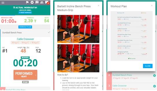 AtletIQ Bodybuilding app
