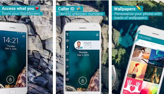 Start - Lock screen app