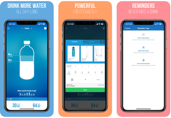 Waterlogged: Weight loss apps free