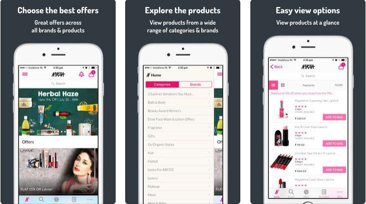 nykka shopping app