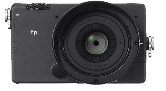 Sigma FP video camera with 4k recording
