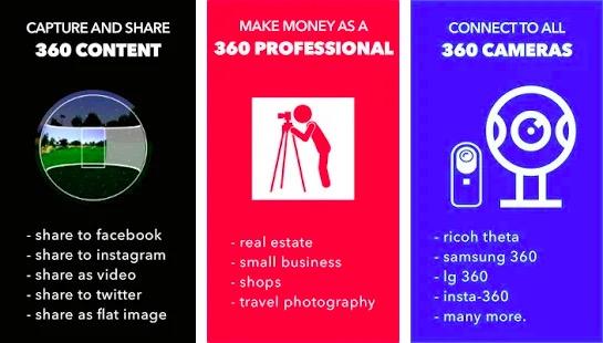 Panorama360 - 360 camera app