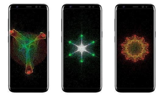 Particle Live Wallpaper