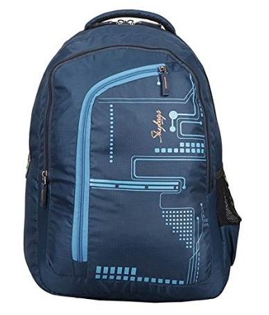 Skybags 29 Ltrs Dark Blue Laptop Backpack