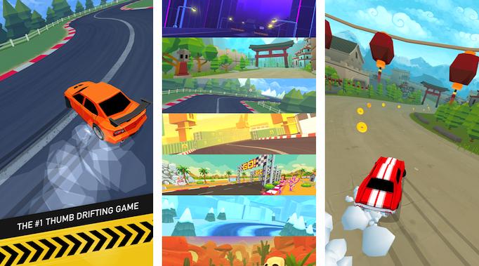 Thumb Drift: Android racing game