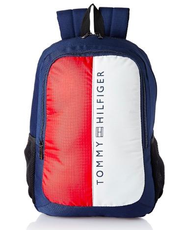 Tommy Hilfiger Navy Laptop Backpack