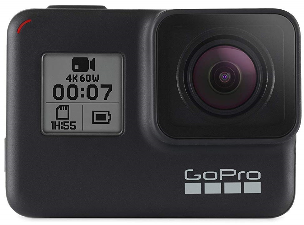 gopro hero 7 action camera for travel