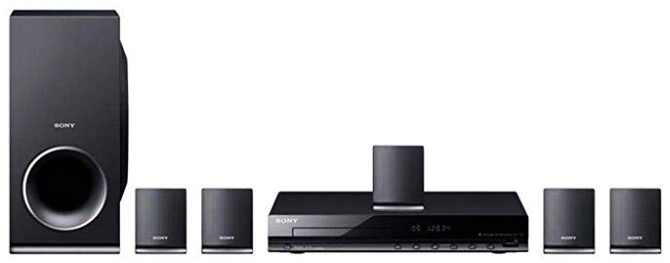 Sony DAV-TZ145 Real 5.1ch Dolby Digital DVD Home Theatre System