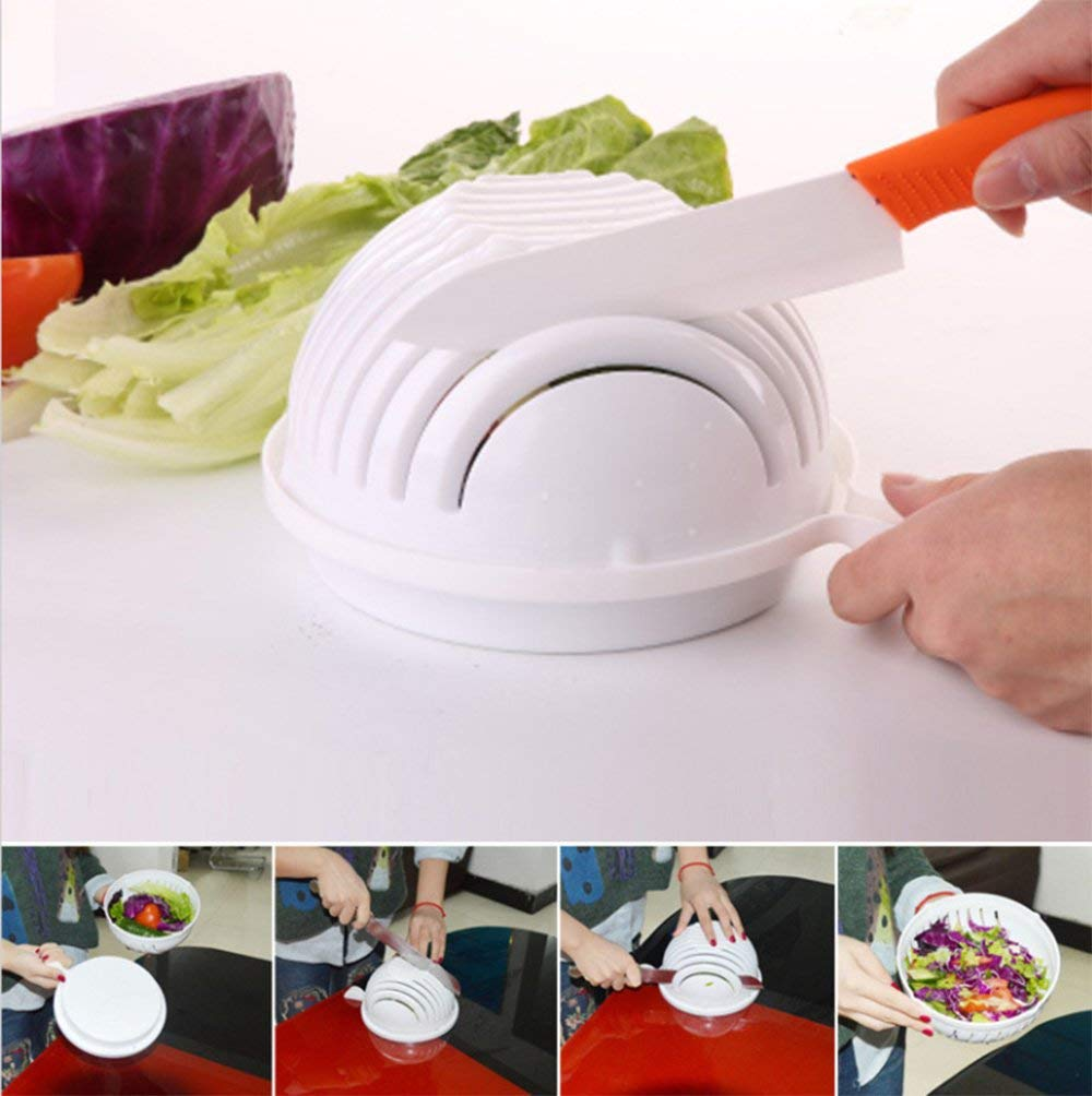 salad cutting bowl kitchen gadgets