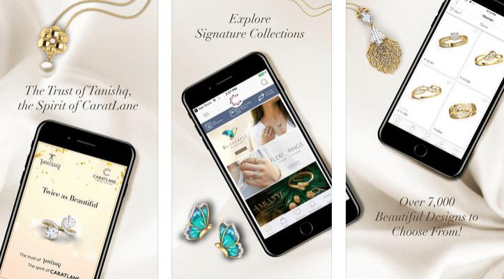 caratlane online shopping app