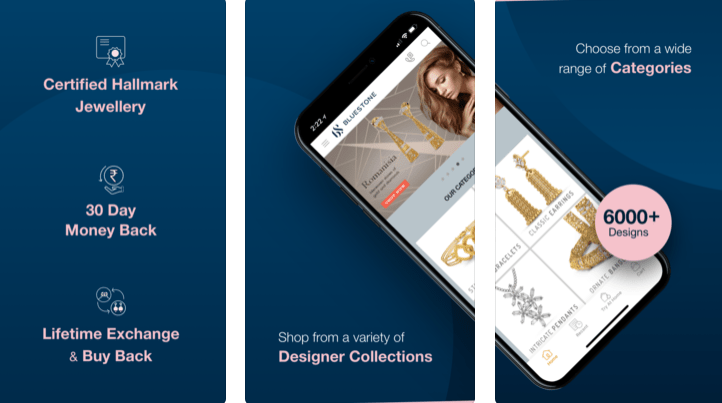 jewellery shopping apps