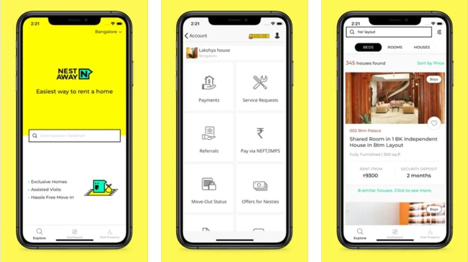 nestaway: Real Estate app in India