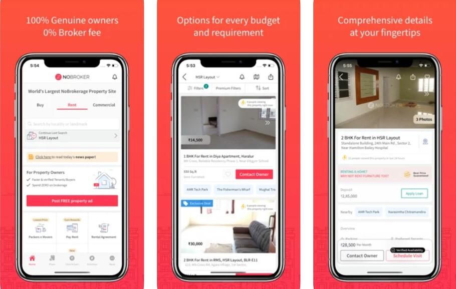 Nobroker: Real Estate app