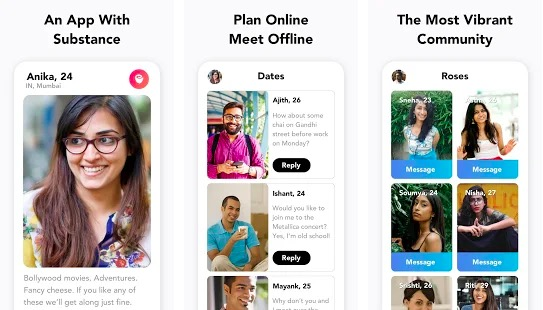 Aisle: Dating app in India